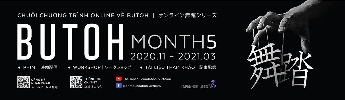 Chuỗi chương trình Online về Butoh – BUTOH MONTHS
